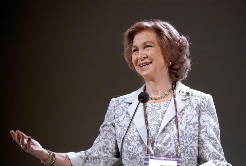 La reina destaca los «logros alcanzados en la lucha contra el terrorismo»