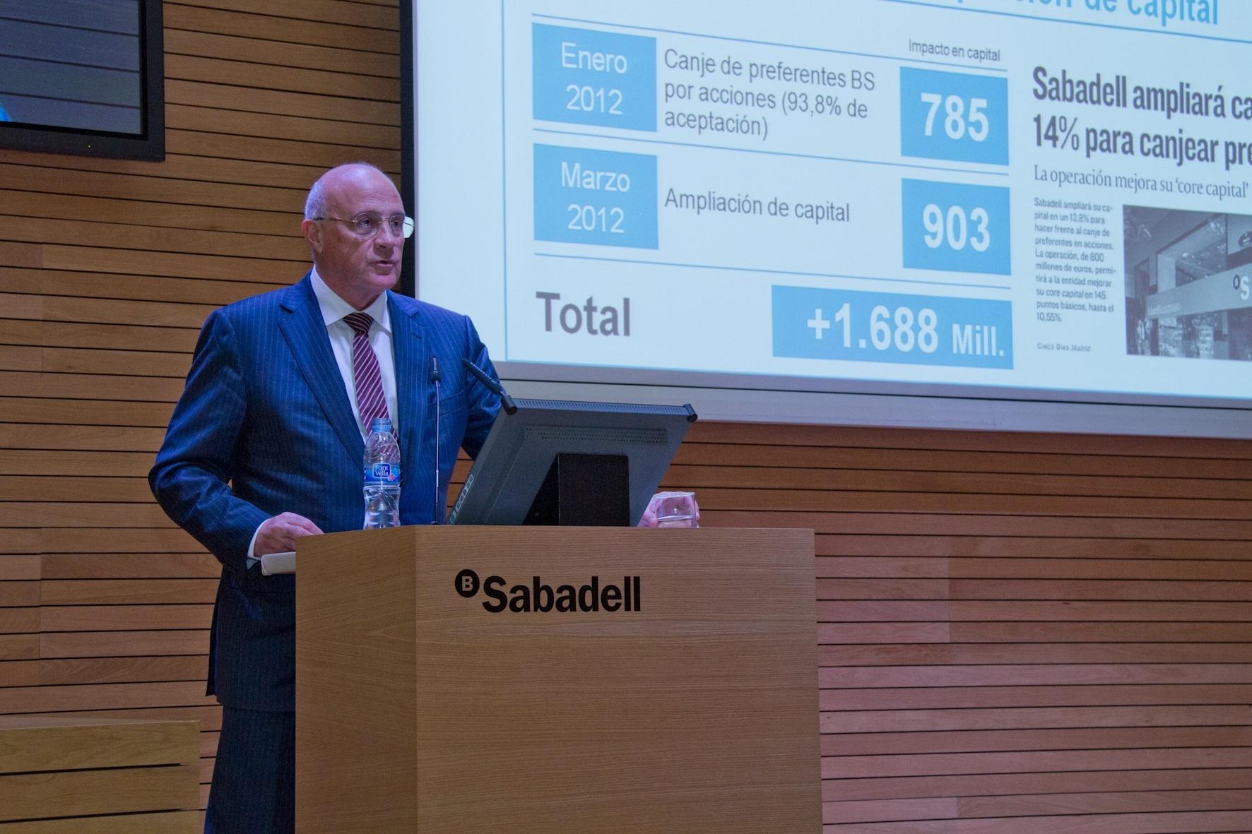 Banco Sabadell mantiene el interés por Catalunya Banc