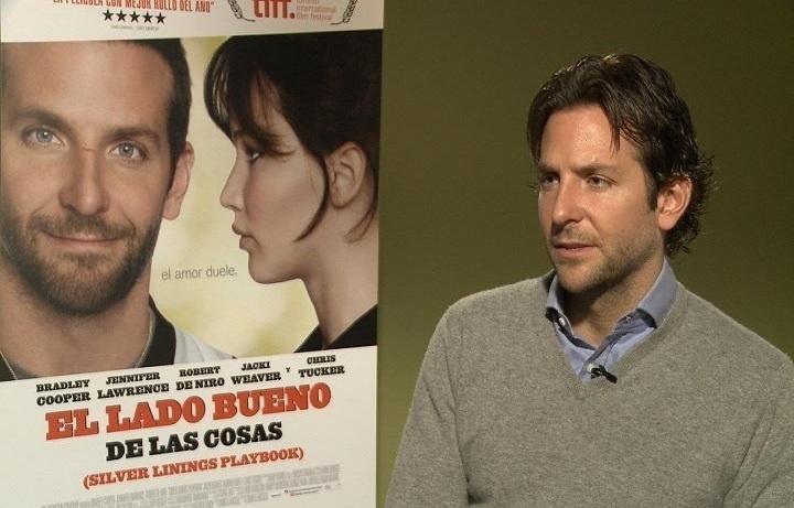 Bradley Cooper: »El lado bueno de las cosas» es «el triunfo del equipo»
