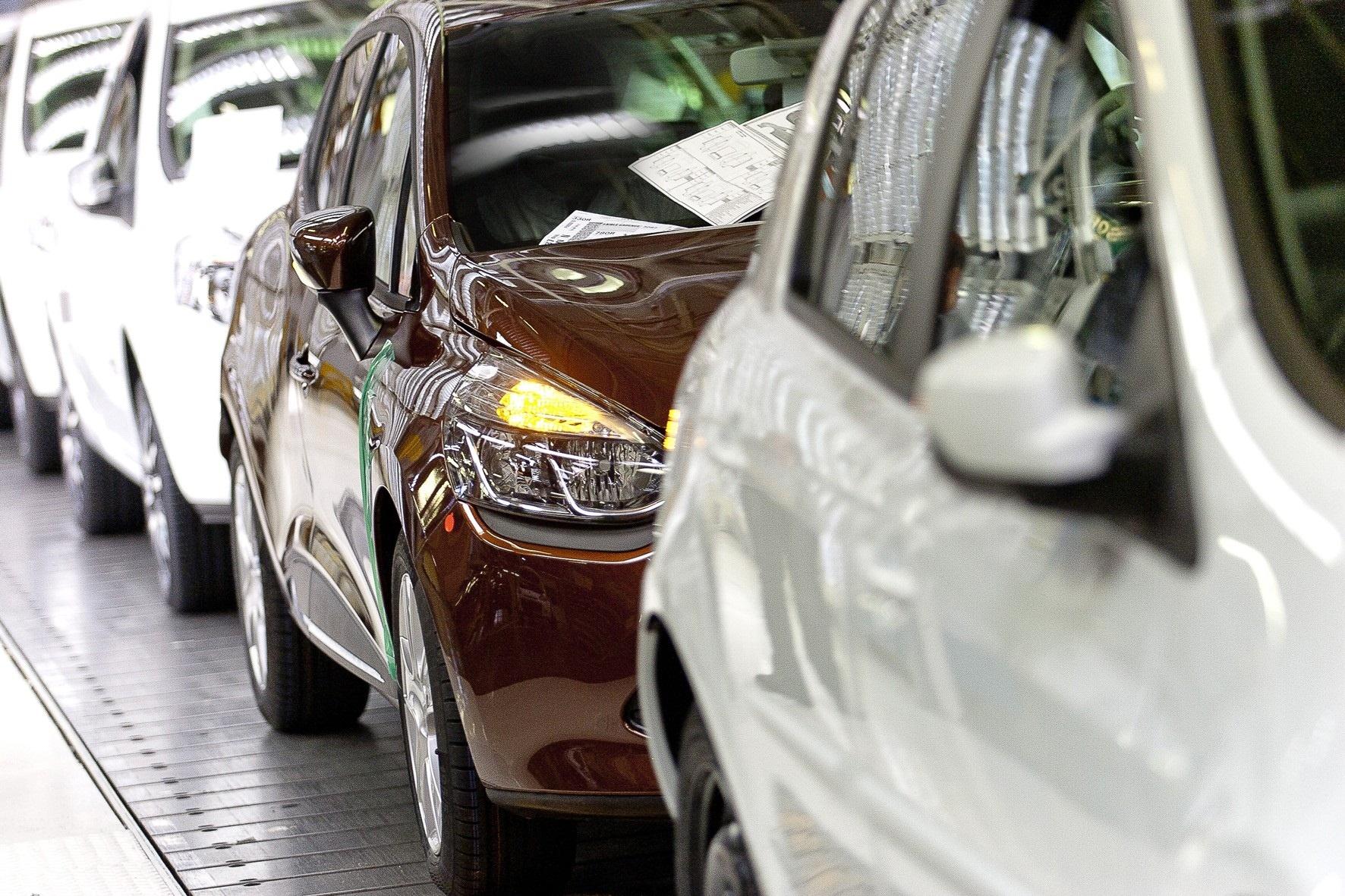Las ventas de coches en Europa caen un 7,8% en 2012 lastradas por España, Francia e Italia