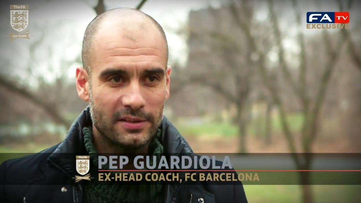 Guardiola: «No pude cumplir el sueño de jugar en Inglaterra, espero poder entrenar»