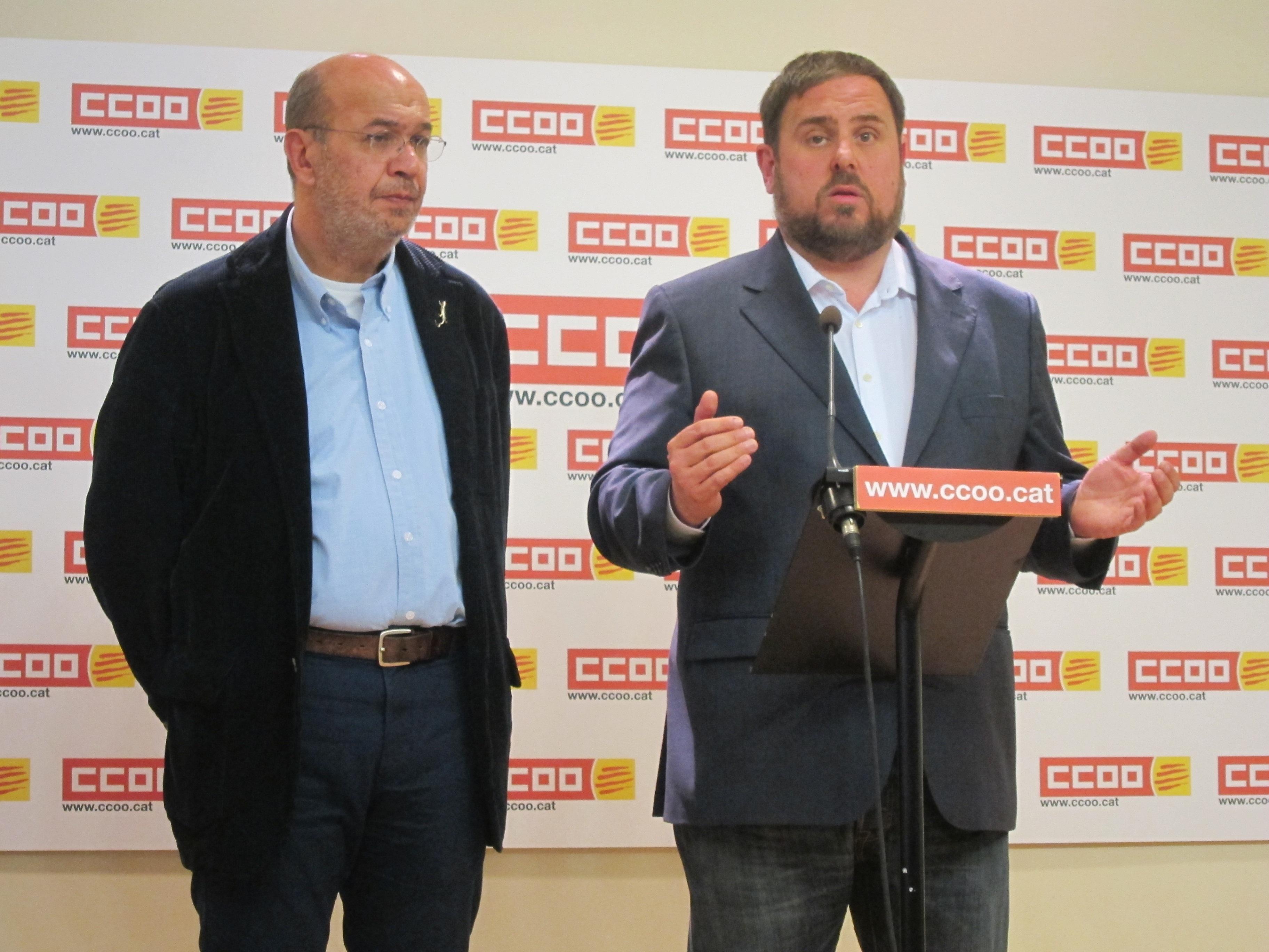 Junqueras (ERC) ve una «invitación constante» a la independencia los recursos de Rajoy al TC