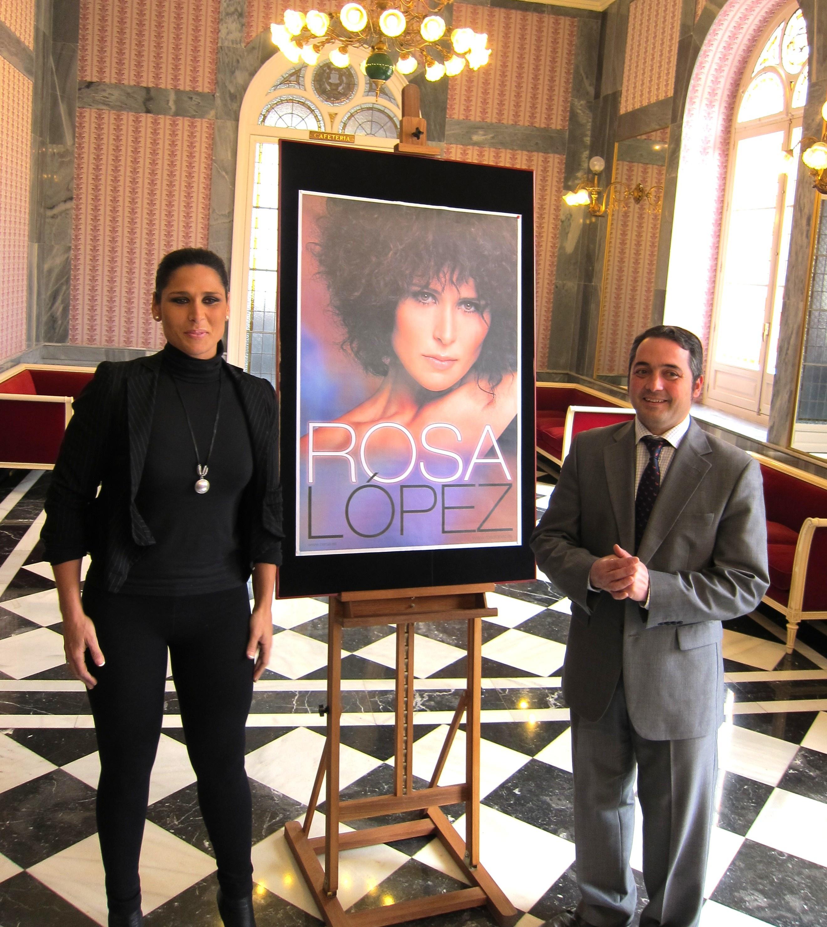 La cantante Rosa López presentará su nuevo disco homónimo en el Teatro Romea de Murcia