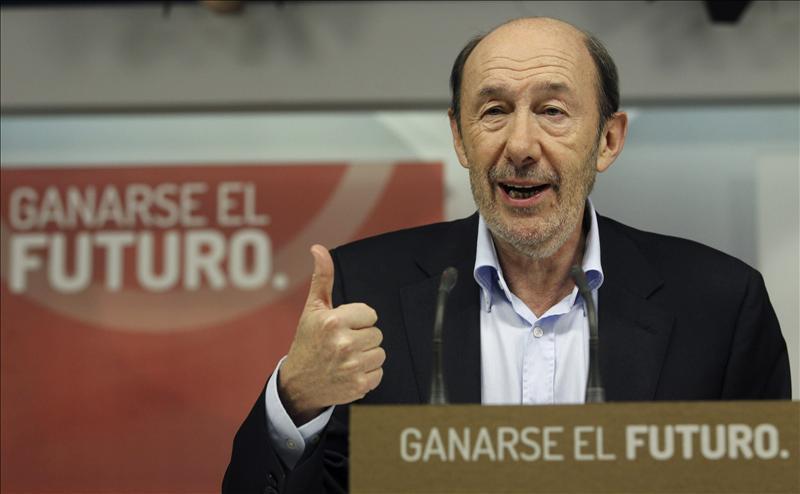 Rubalcaba será el «gran transformador de las ideas del PSOE», dice Valenciano