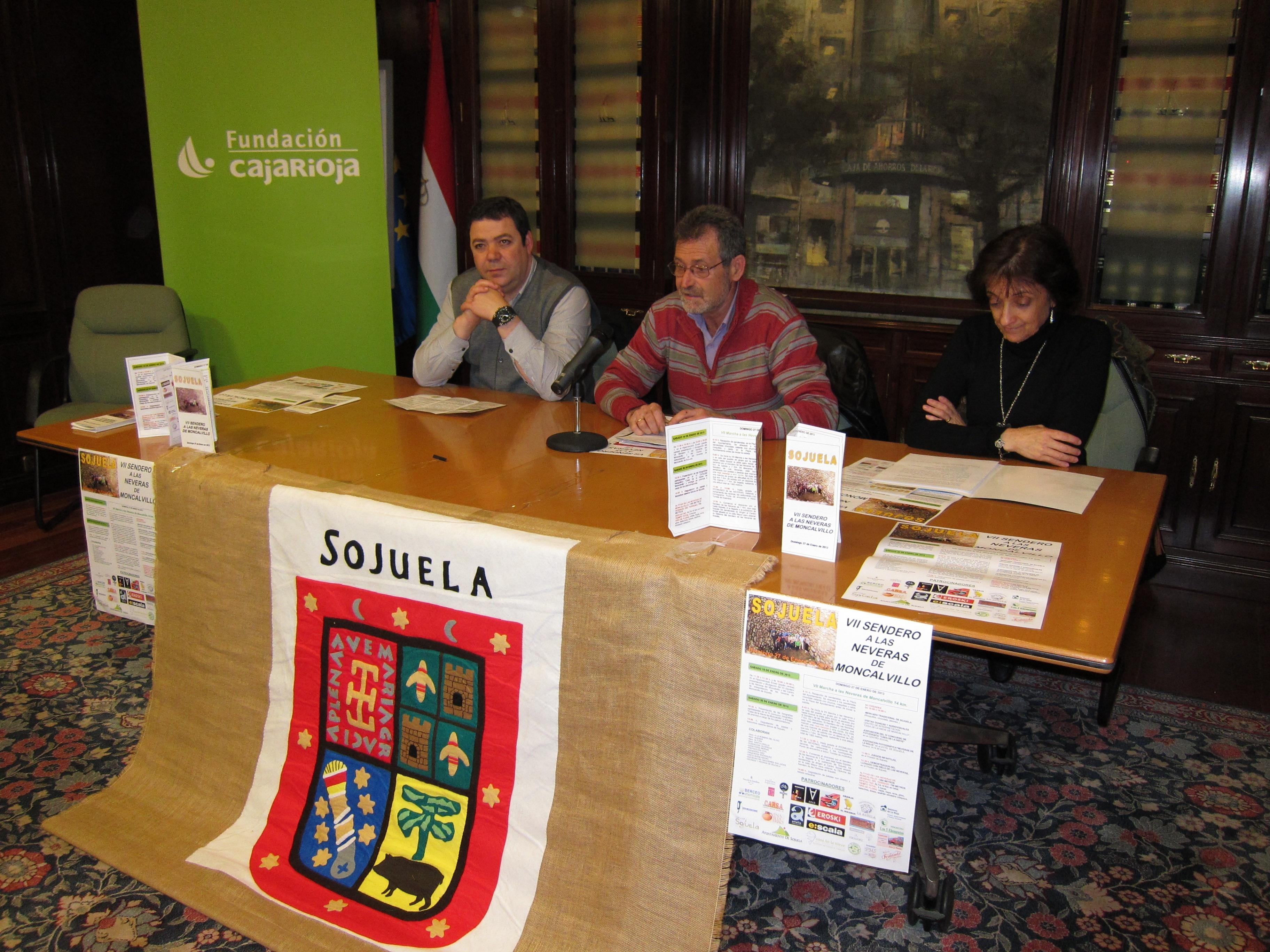 Sojuela acoge el 27 de enero el VII sendero a las neveras de Moncalvillo