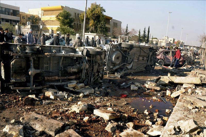 Al menos 22 muertos y 30 heridos en un doble atentado en el norte de Siria