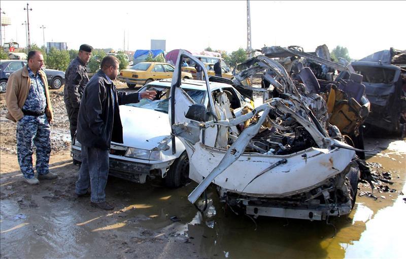 Al menos 17 muertos y 136 heridos en varios atentados al norte de Bagdad