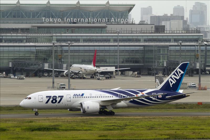 La aerolínea japonesa ANA inmoviliza los Boeing 787 hasta finales de mayo