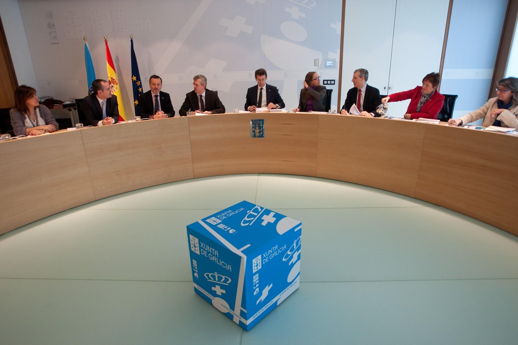 (AV.Feijóo proclama que Galicia es «referencia continuada» en solvencia y afirma que no acudirá al FLA