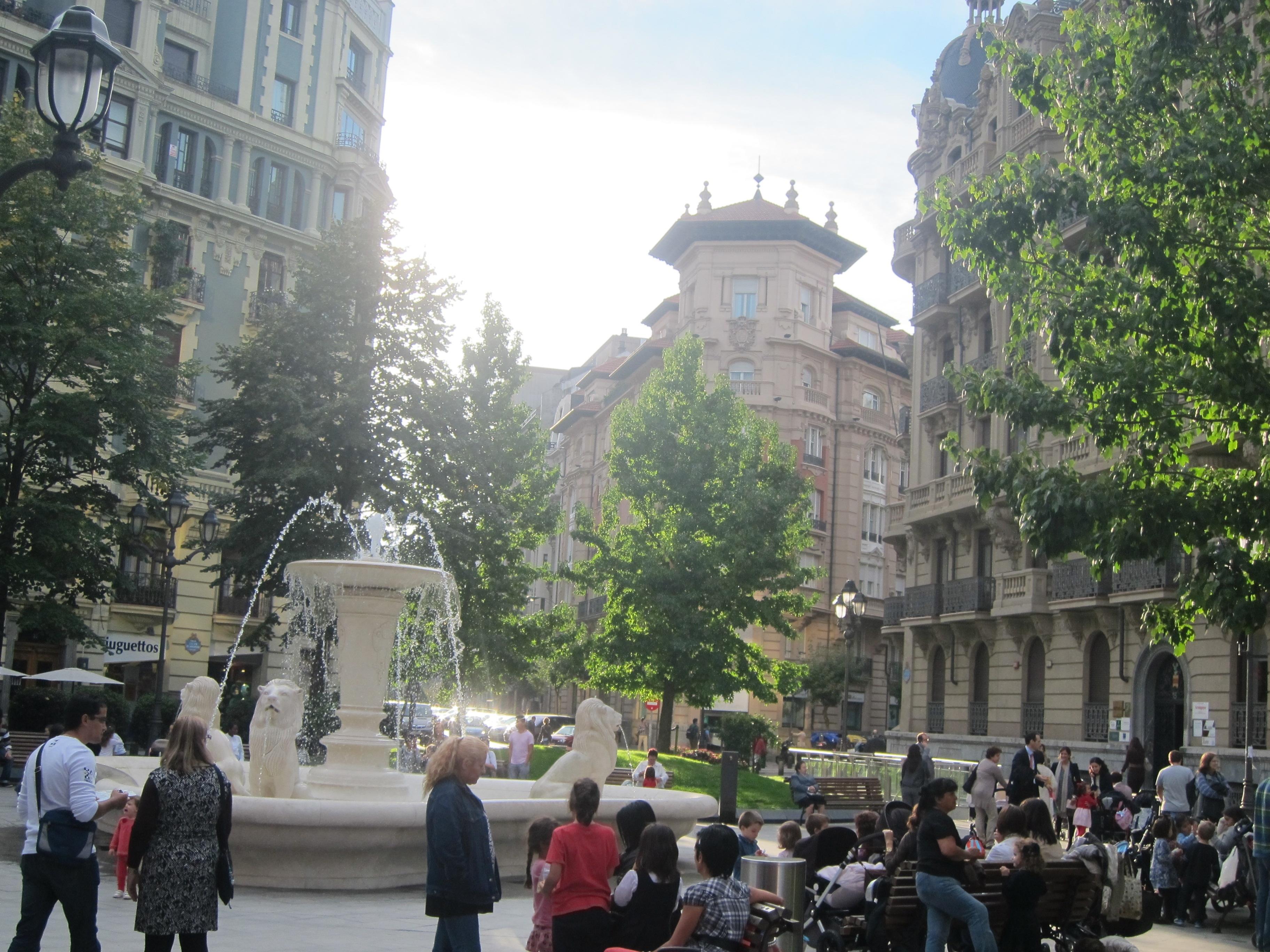 Aemet prevé temperaturas superiores a los 20 grados el domingo y más de 23 grados el lunes en Euskadi