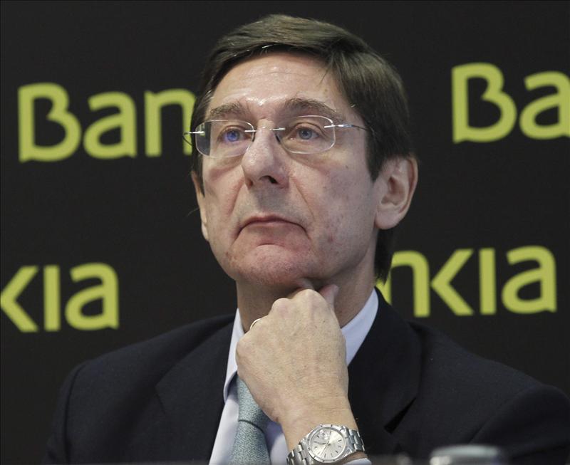 Goirigolzarri asegura que Bankia es tremendamente solvente, el reto es hacerla rentable