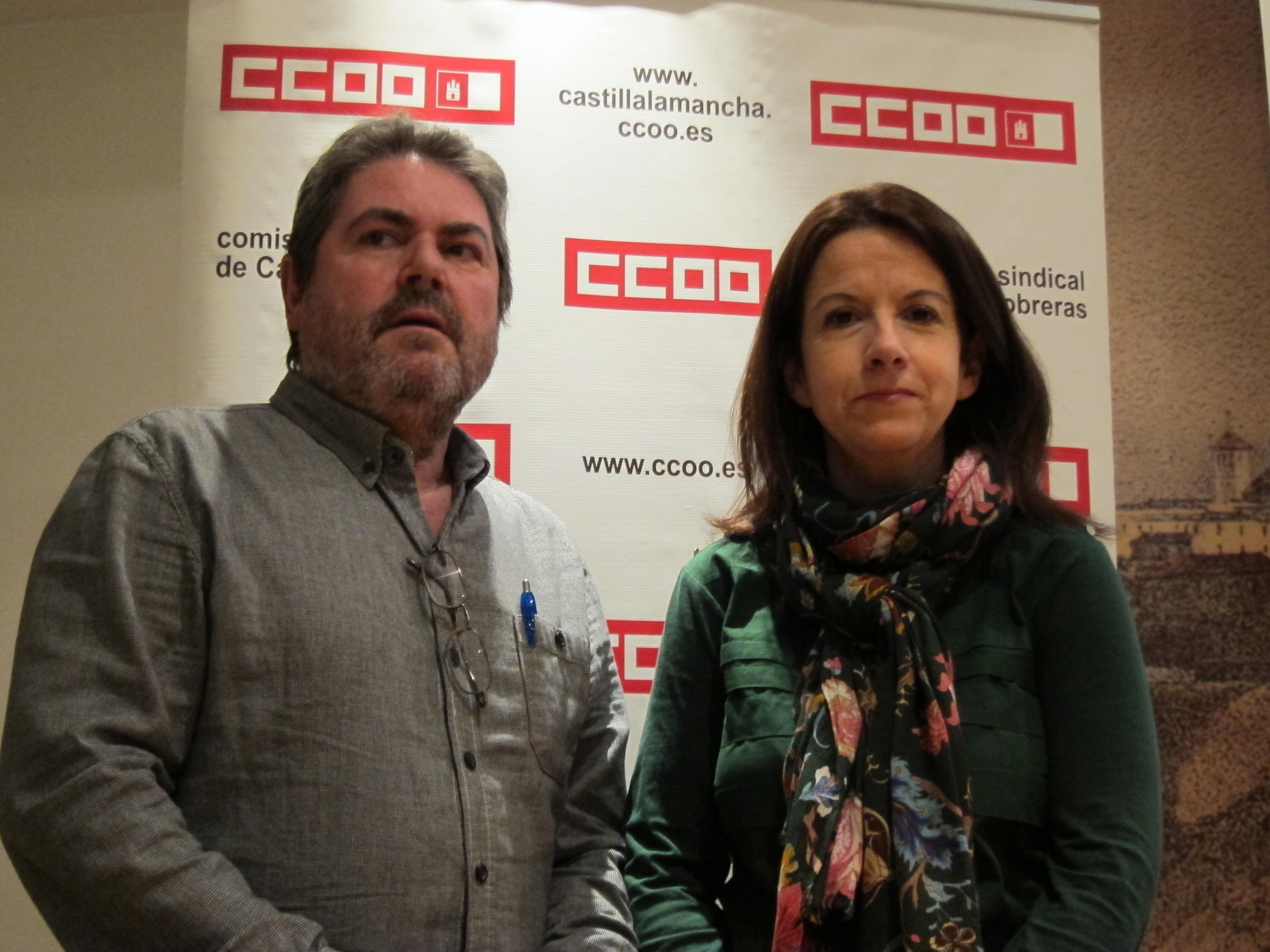 CCOO asegura que las bajas por enfermedad están «maquilladas» porque los trabajadores acuden a trabajar enfermos