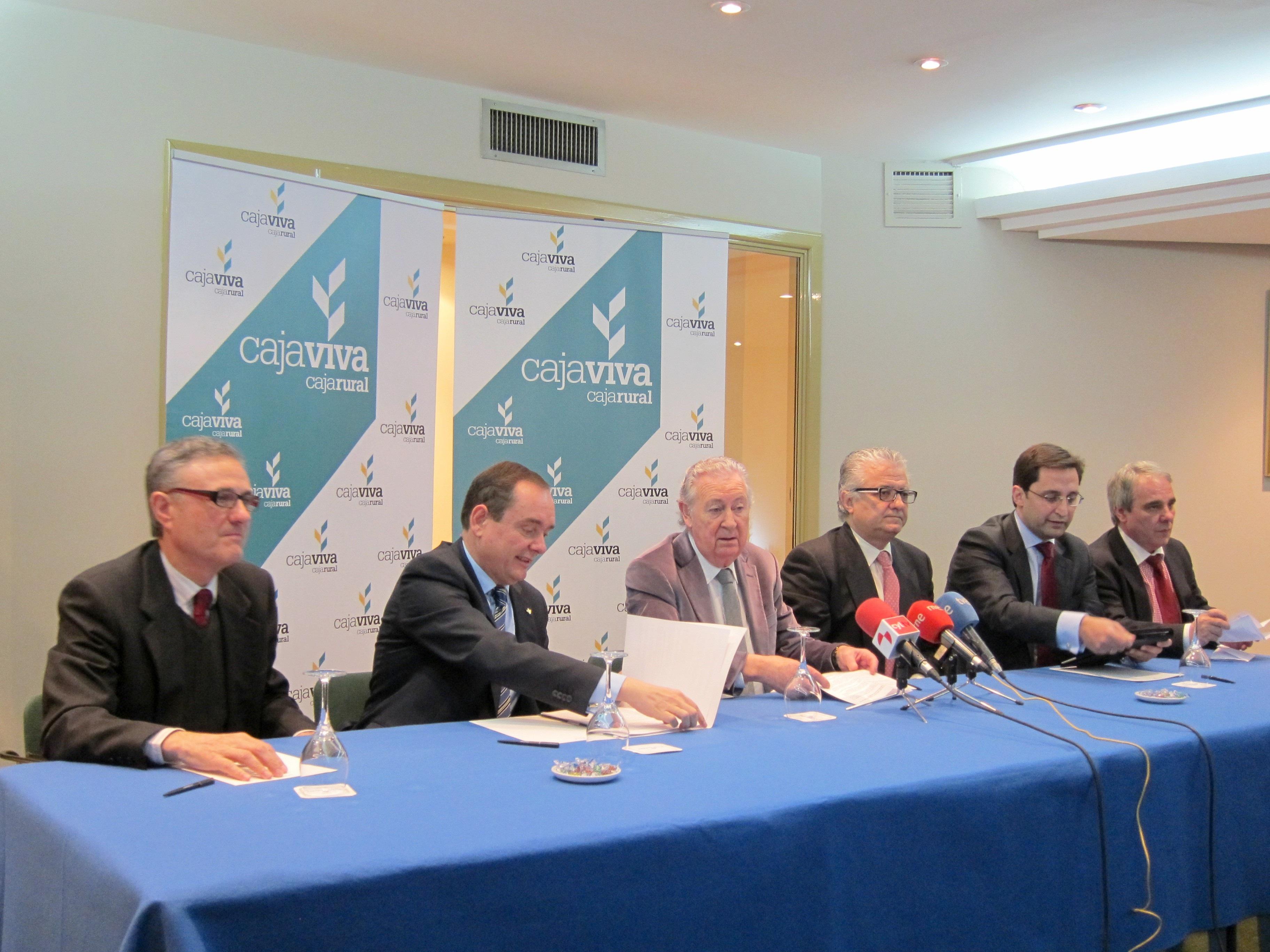 Cajaviva logra 3,6 millones de beneficio en su primer semestre, un 28% más que la suma de sus integrantes un año antes