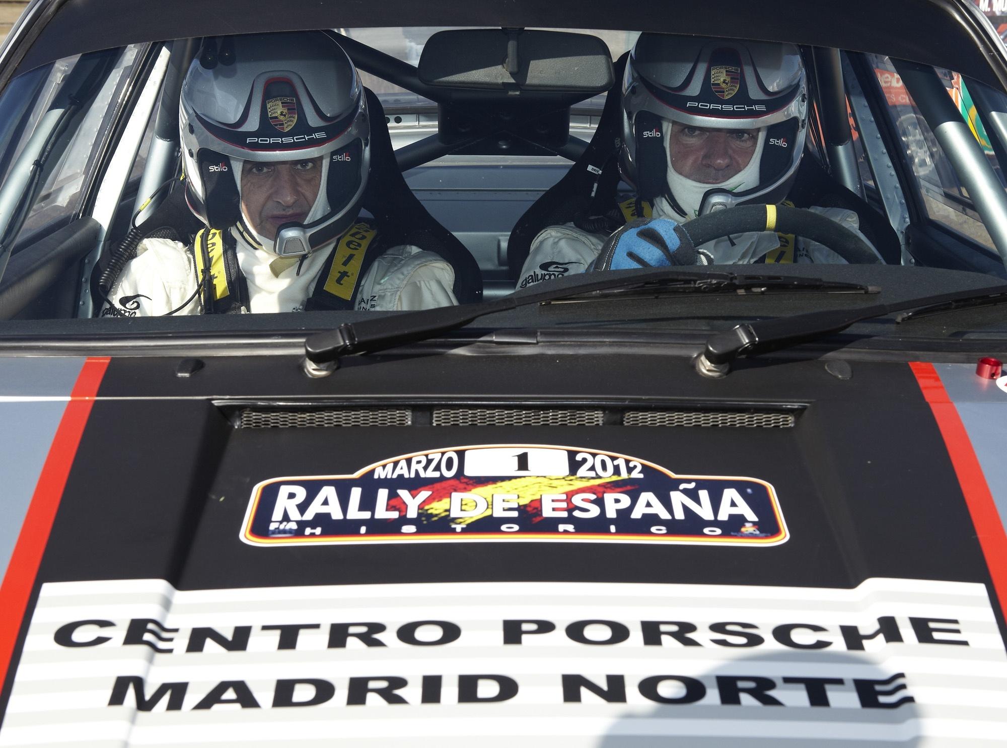 Carlos Sainz y Luis Moya forman tándem en un Porsche 911 para el V Rally de España Histórico