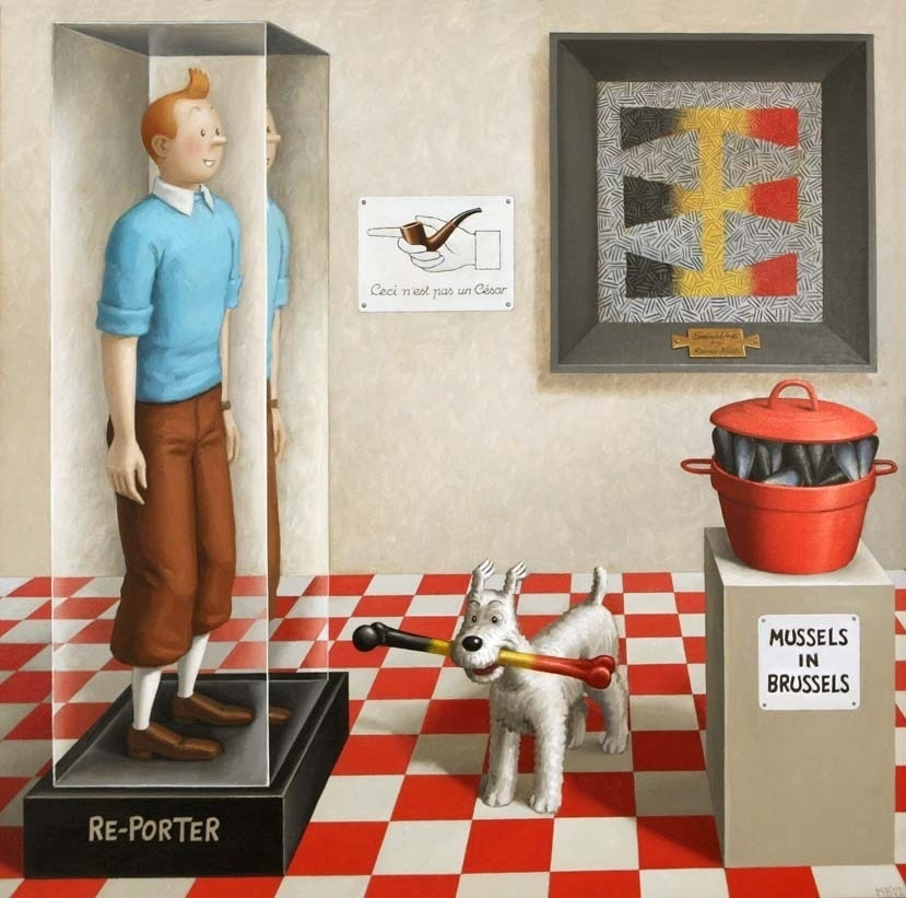Una exposición en la Chirivella Soriano muestra «el lado valenciano» de Sigfrido Martín Begué