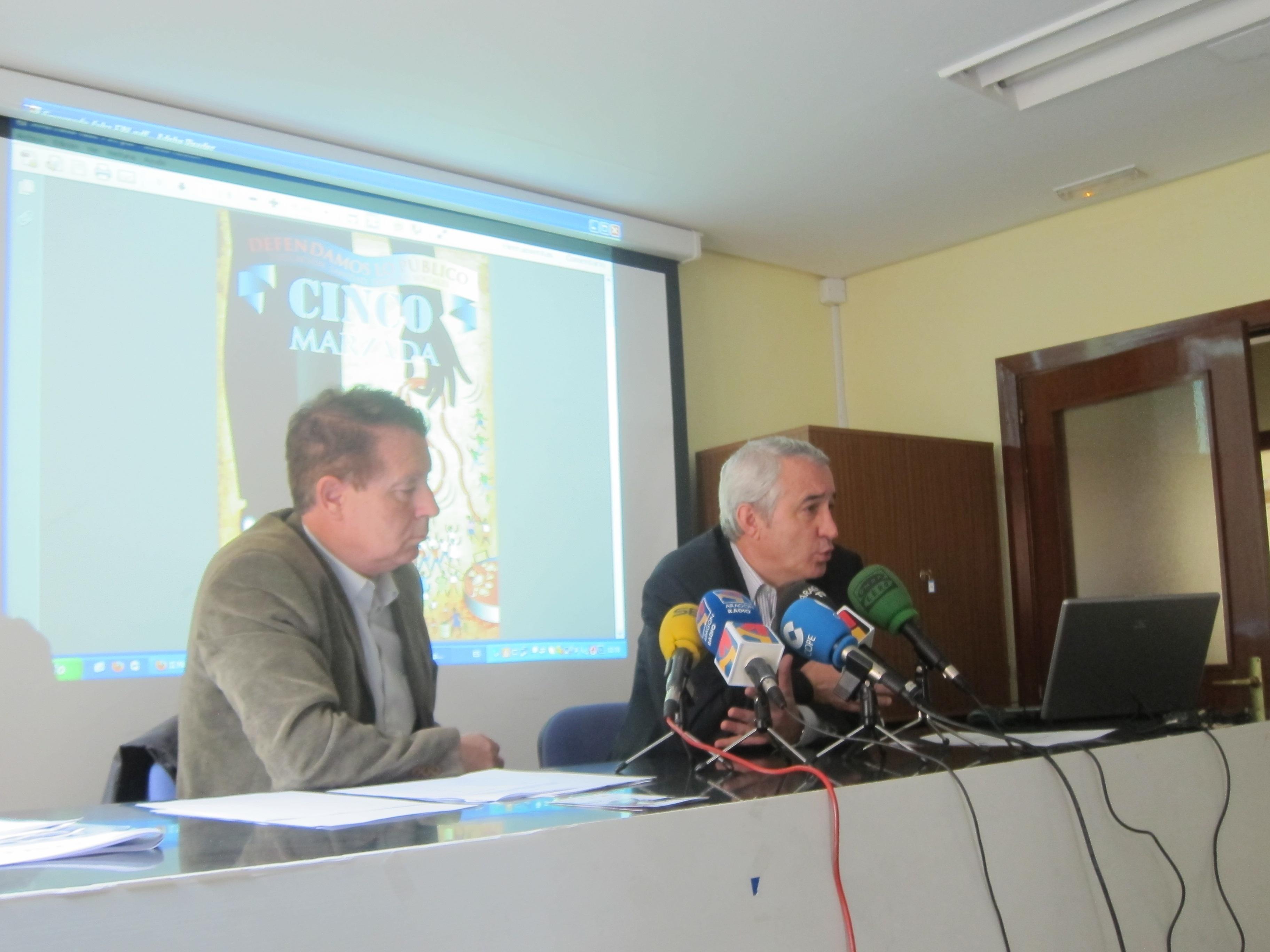 La FABZ celebra la Cincomarzada, bajo la reivindicación »Defendamos lo público»