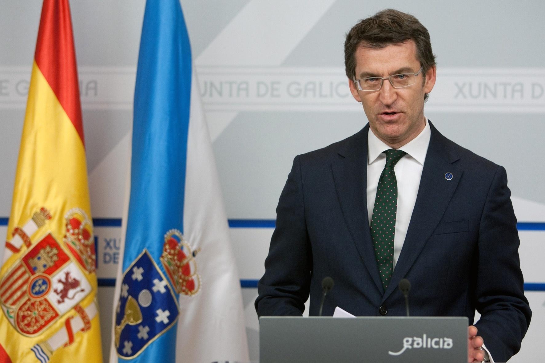 Feijóo reclama «explicaciones contundentes» a la «Alcaldía» de Santiago, pero rechaza «condenar a nadie»