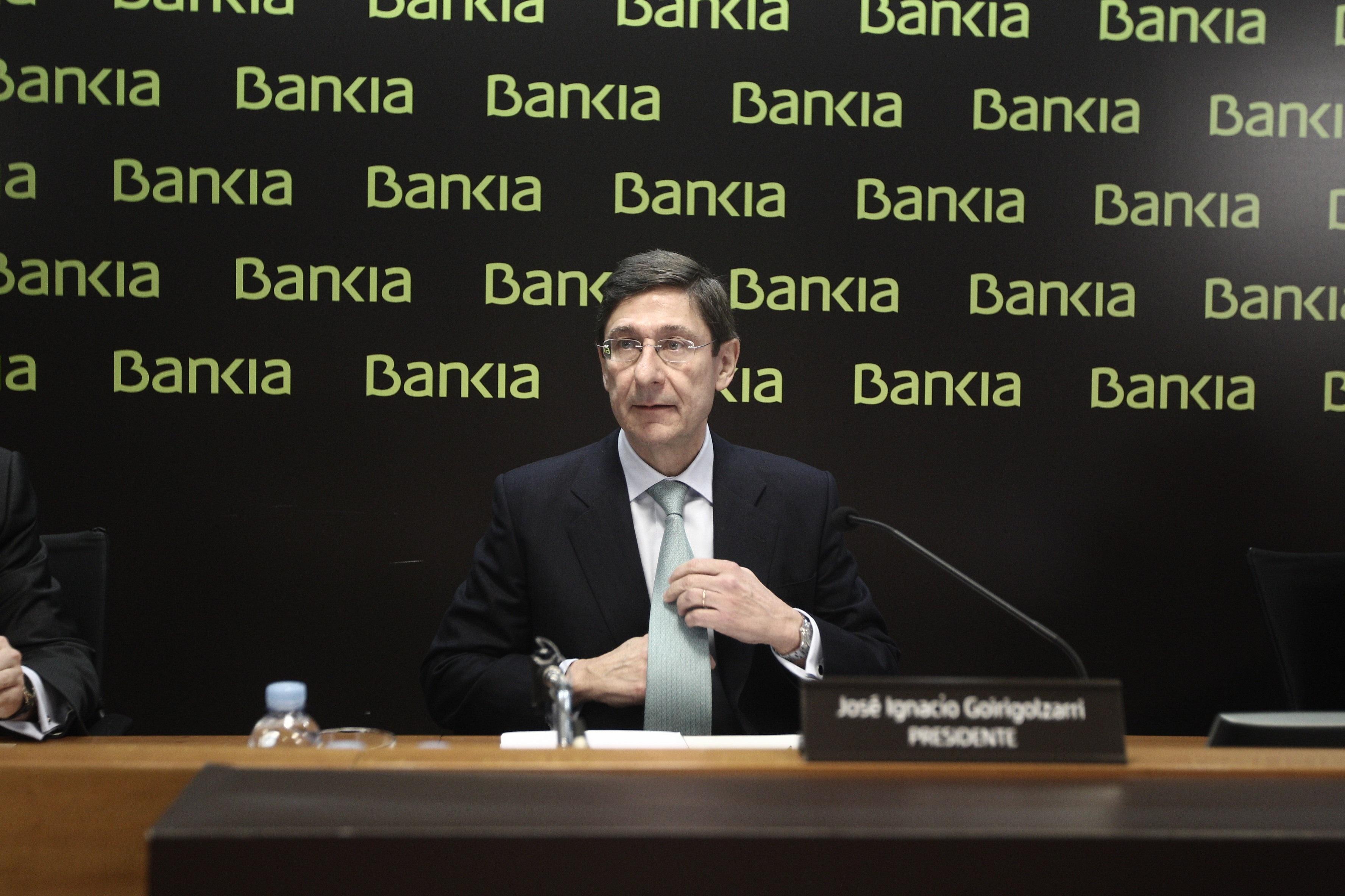 Goirigolzarri garantiza que el negocio de Bankia está «estabilizado»