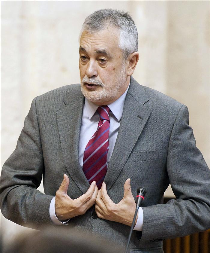 Griñán confía en que Rubalcaba y Navarro «recompongan» la situación