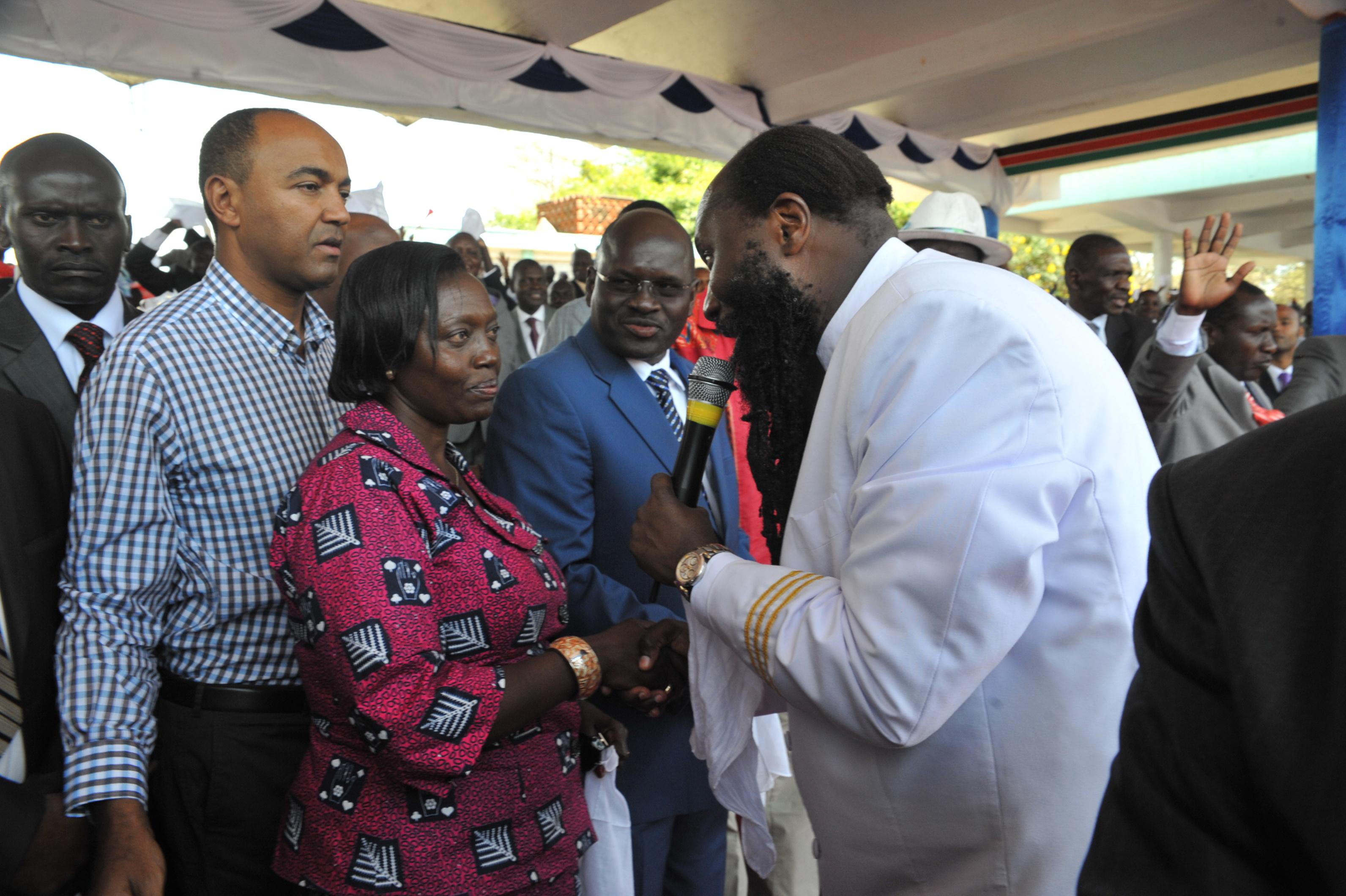 Karua, la única candidata mujer, conocida como la «dama de hierro» en Kenia