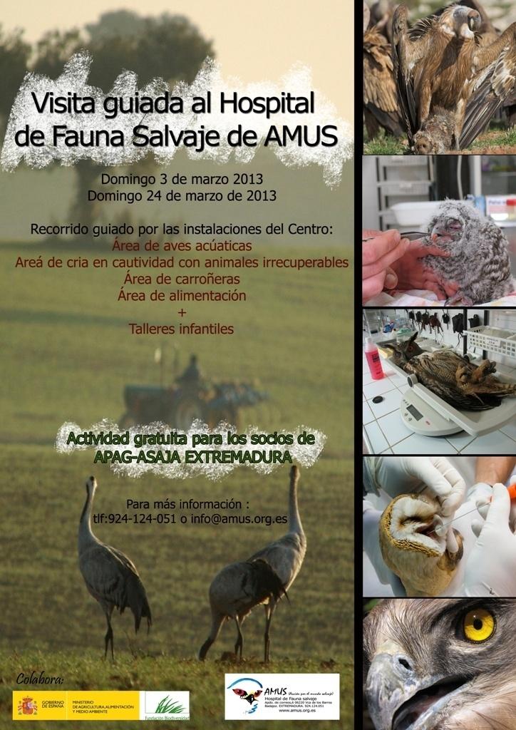 La ONG AMUS inicia un nuevo proyecto para implicar a los agentes del medio rural en la defensa del mundo salvaje