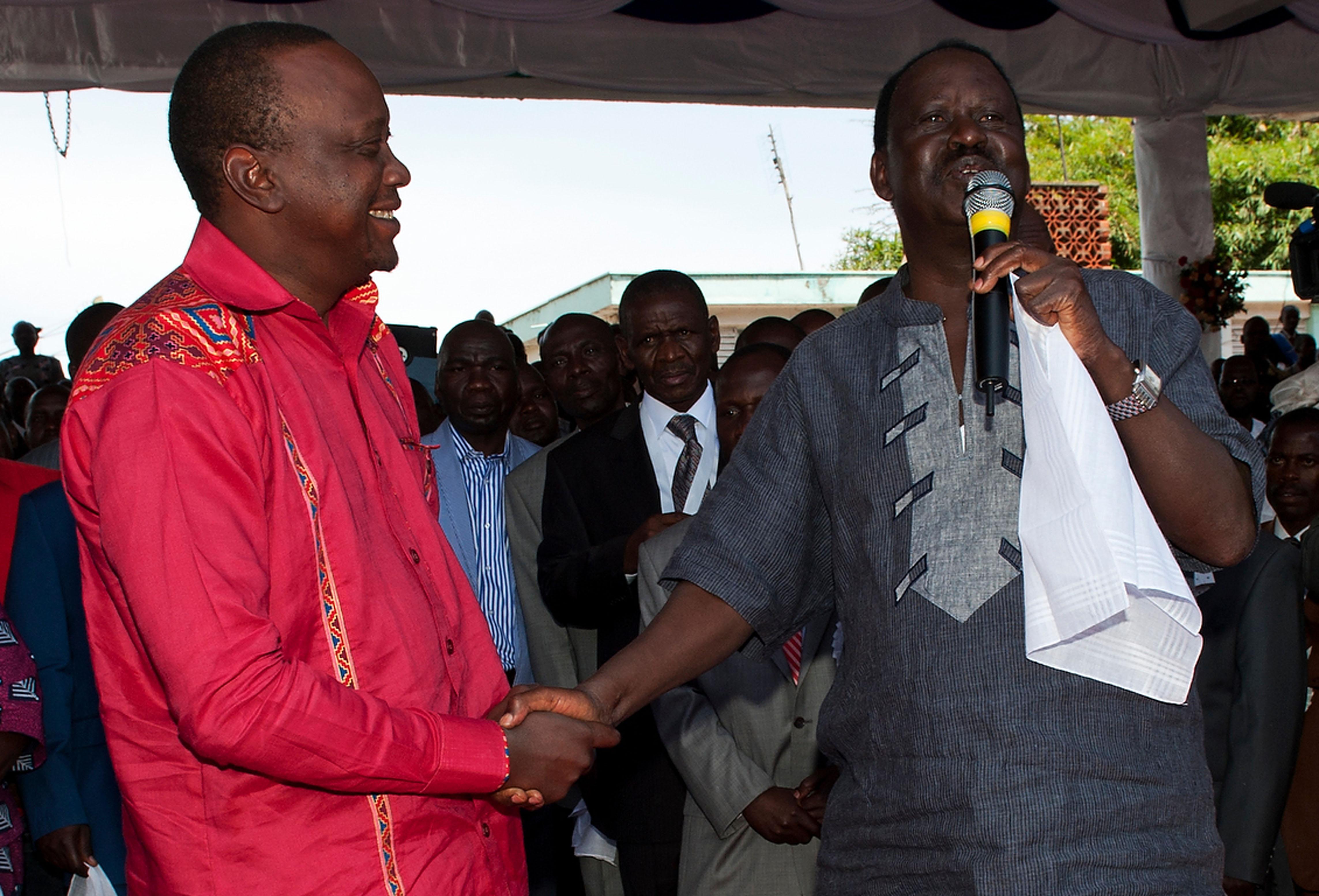 Odinga y Kenyatta, dos viejas caras que se disputan el nuevo rumbo de Kenia