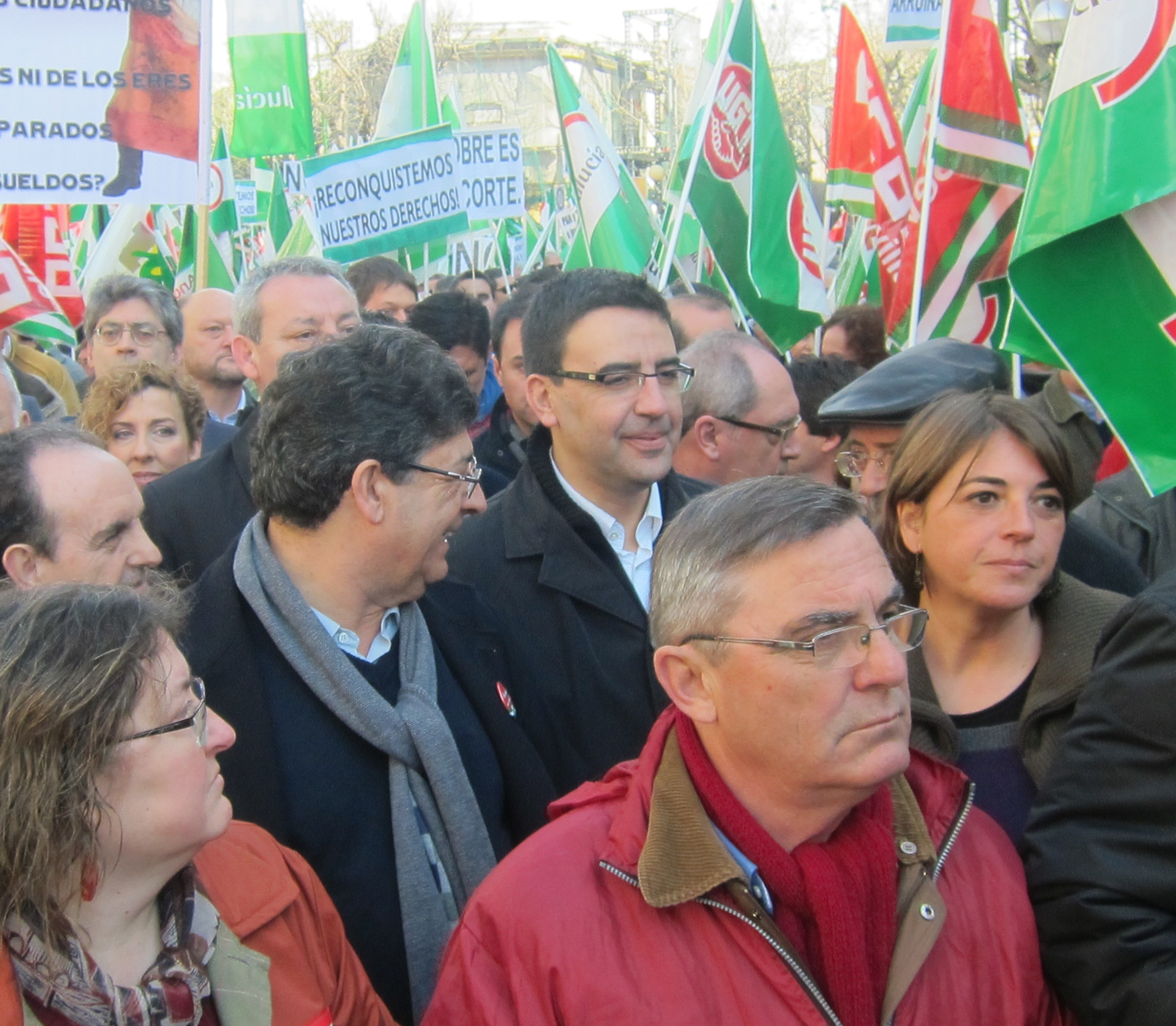 PSOE-A: Las marchas del 28F prueban que Andalucía «no respalda el camino del PP», que «rechaza el autogobierno» andaluz