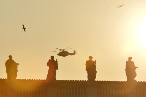 17 minutos de viaje en helicóptero que han emocionado al mundo