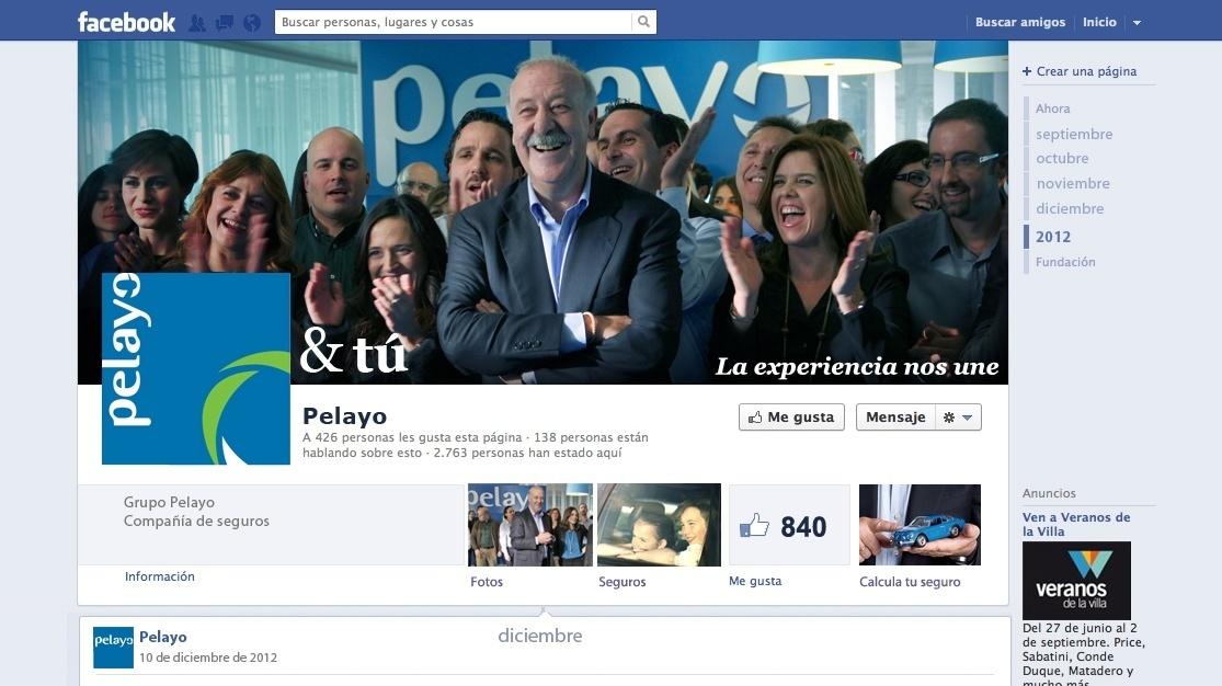 Pelayo estrena sus canales en Facebook, Twitter y Youtube para transmitir los valores de su marca