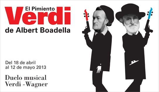 Los Teatros del Canal presentan el espectáculo »El pimiento Verdi», un duelo musical entre Verdi y Wagner