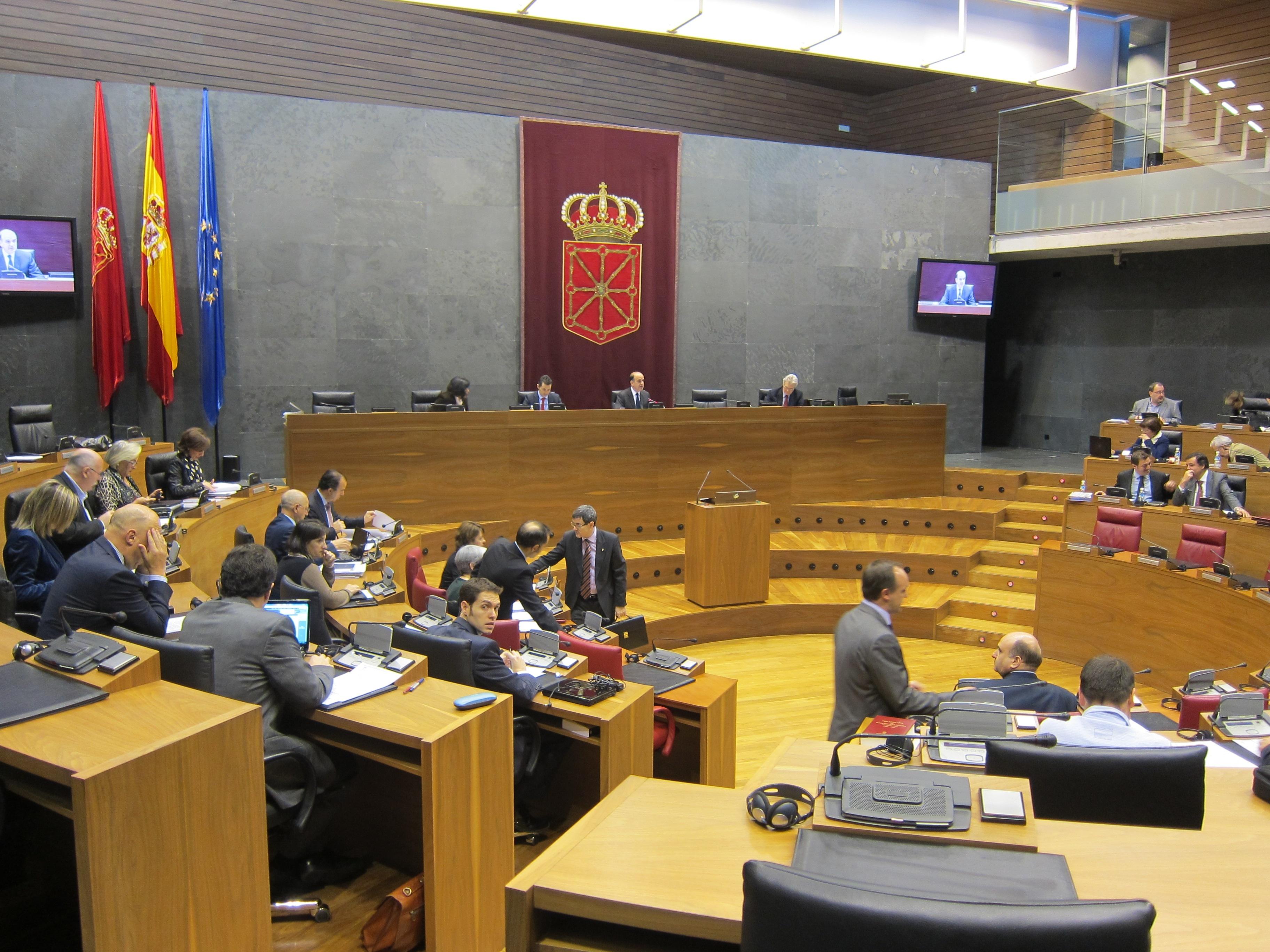 Tan sólo UPN apoya el proyecto de ley de Cuentas Generales de Navarra de 2011