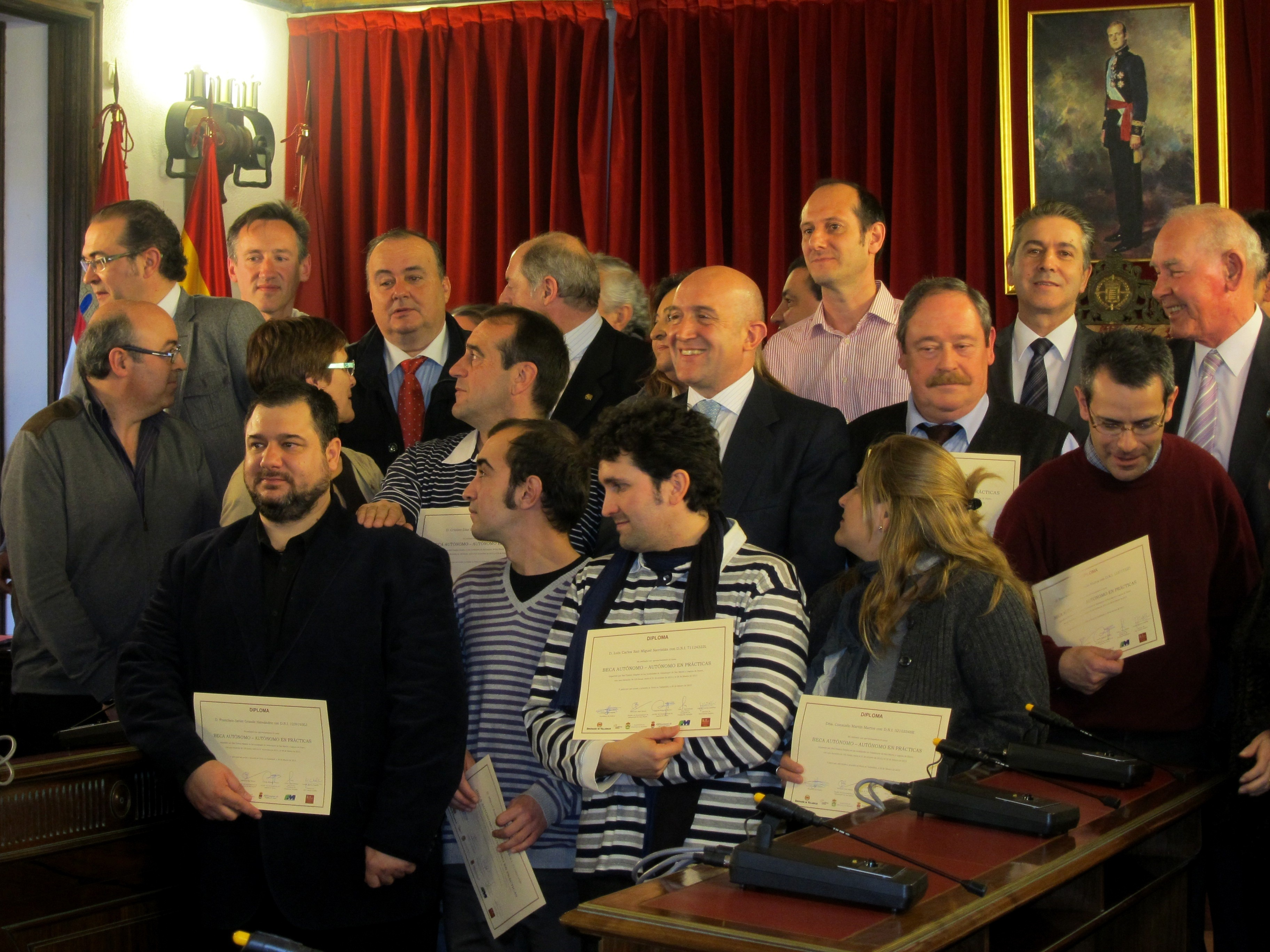 Cuatro de los 14 beneficiarios del curso »Beca autónomo» ya han puesto en marcha proyectos en municipios vallisoletanos