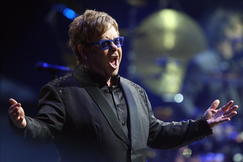 Elton John ofrece una clase magistral en el Festival de Viña del Mar