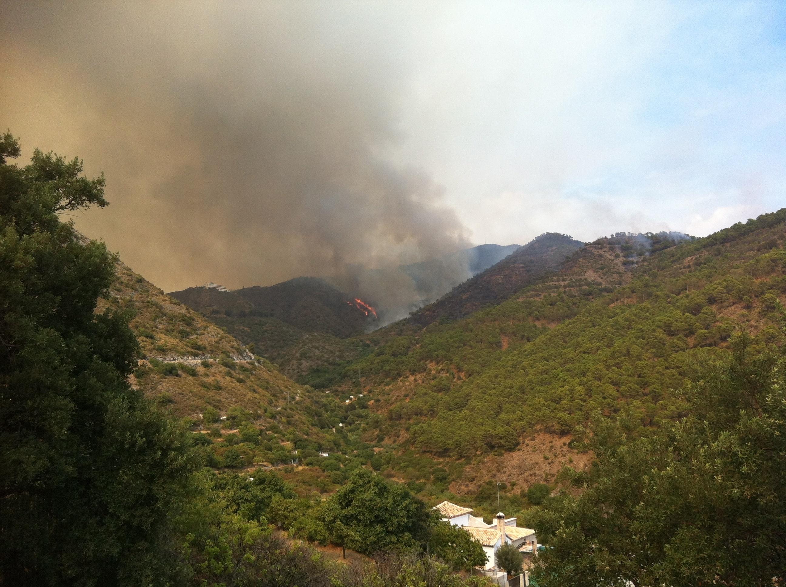 El Gobierno destina 700.000 euros a la Comunidad para reparar daños producidos por el incendio forestal de agosto