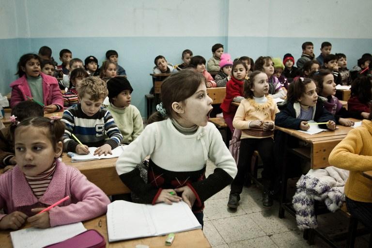 Una generación de niños en riesgo en Siria, amenazada por un conflicto que ya entra en su tercer año