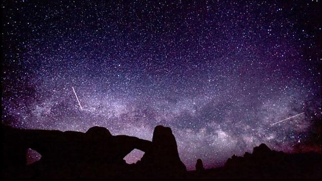 Las Líridas, la lluvia de estrellas «impredecible», durará hasta el 25 de abril