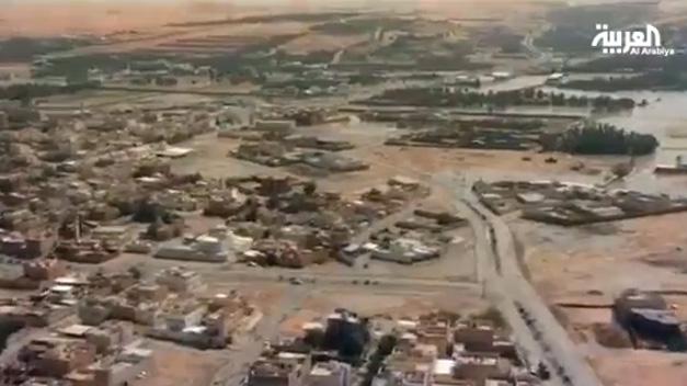 Trece muertos en las peores inundaciones en 25 años en Arabia Saudi