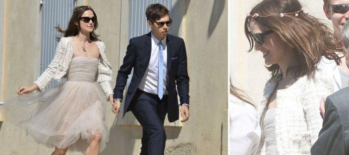 Keira Knightley se casa en el Sur de Francia frente a 11 invitados