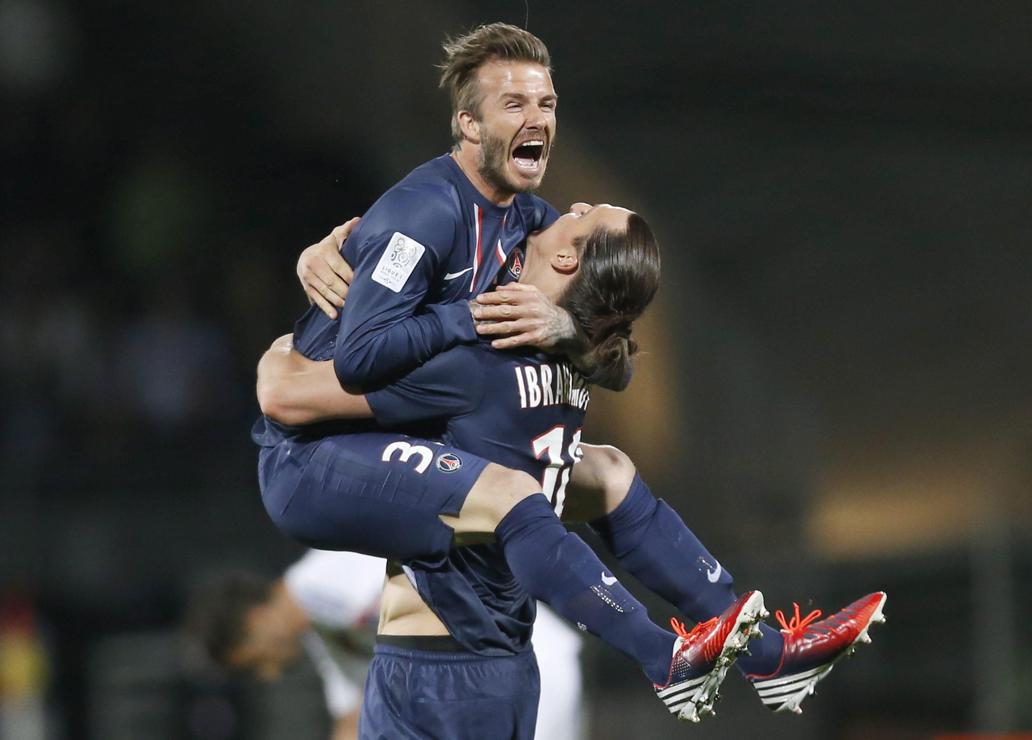 David Beckham, celebra su cuarta liga en cuatro países diferentes