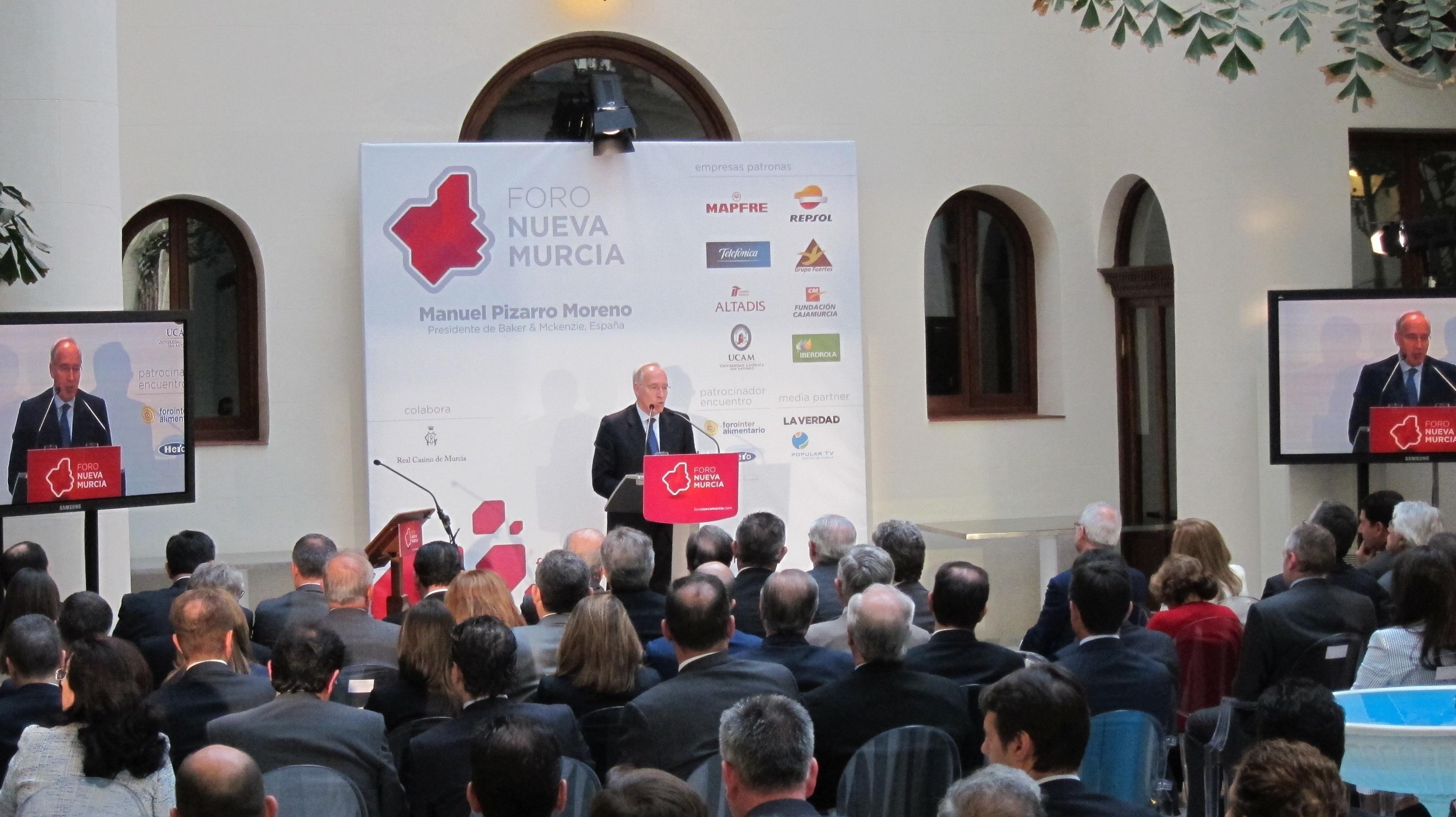 Pizarro subraya necesidad de acabar con la reforma financiera, energética y la de las administraciones públicas