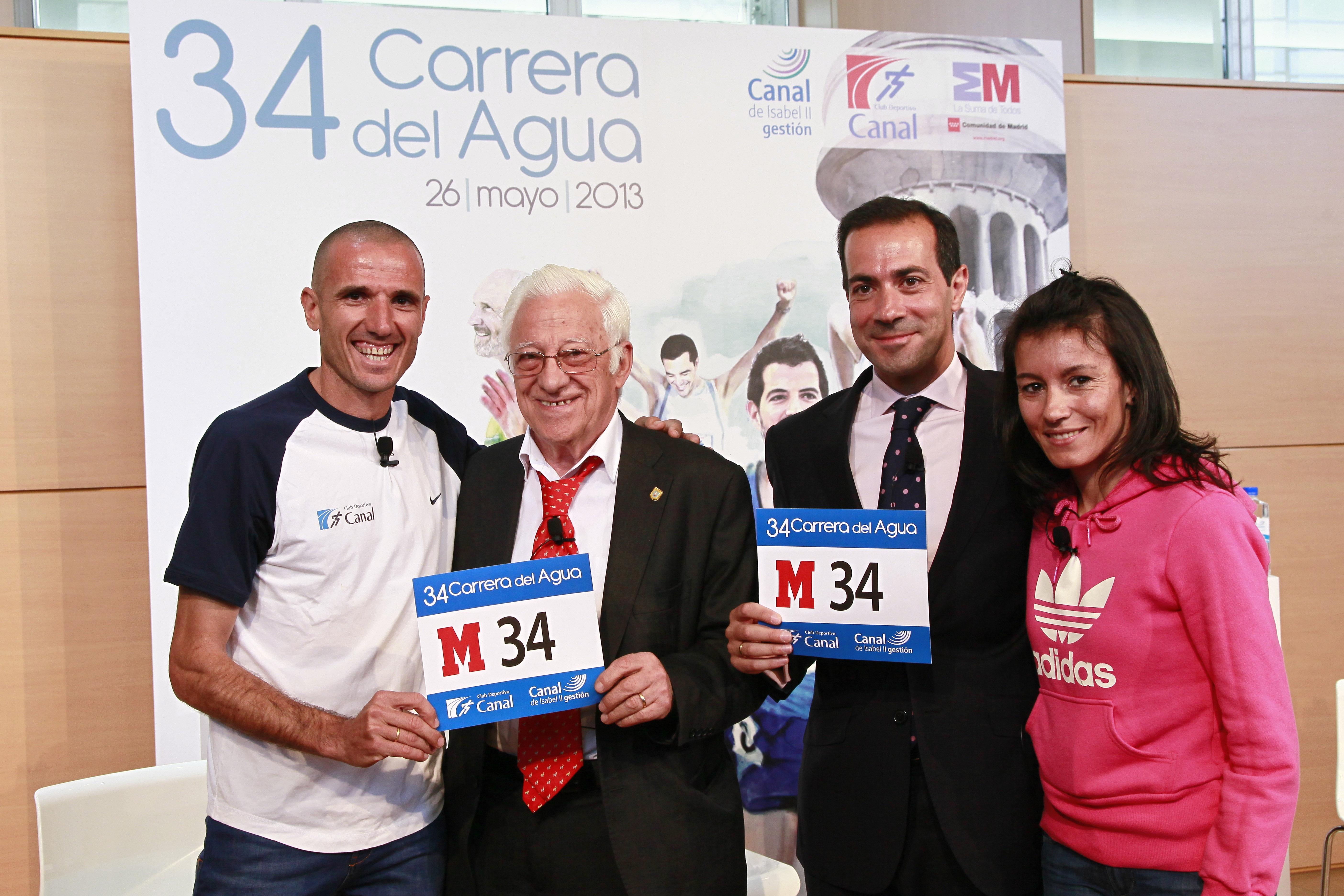 Cerca de 4.000 corredores participarán este domingo en la 34 edición de la Carrera del Agua