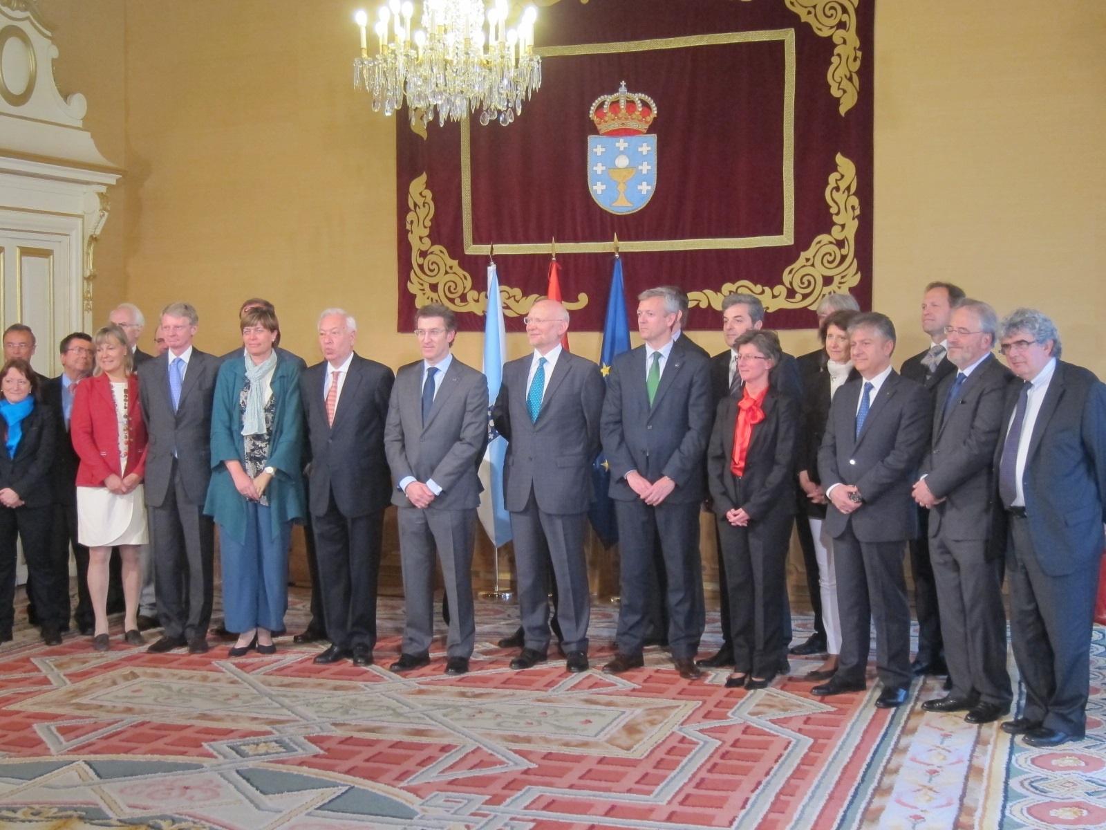 Feijóo reivindica la «credibilidad» de Galicia