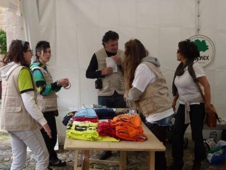 El V Festival de las Aves »Ciudad de Cáceres» supera las cifras de participación de ediciones anteriores