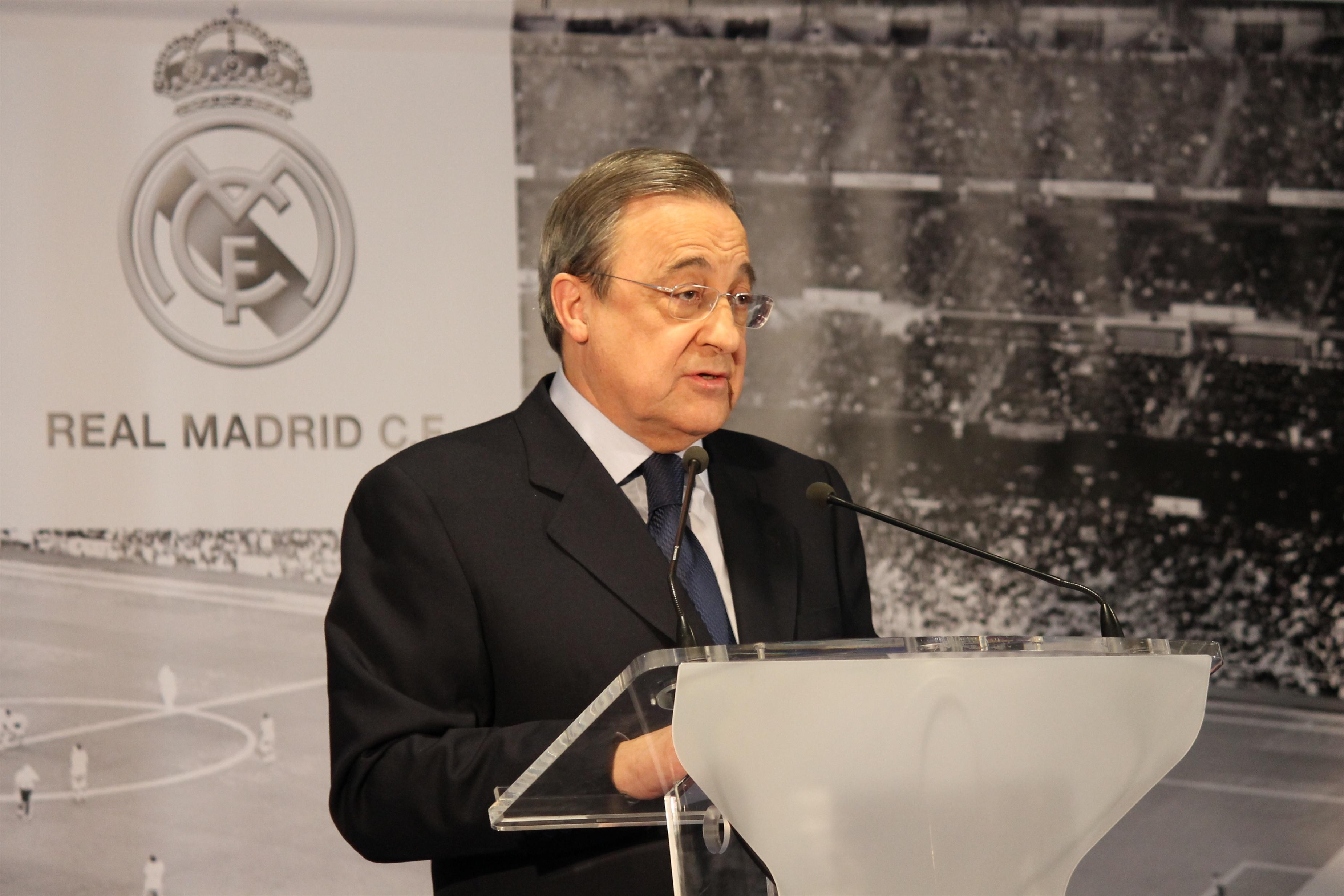Florentino convoca elecciones en el Real Madrid para el próximo 16 de junio