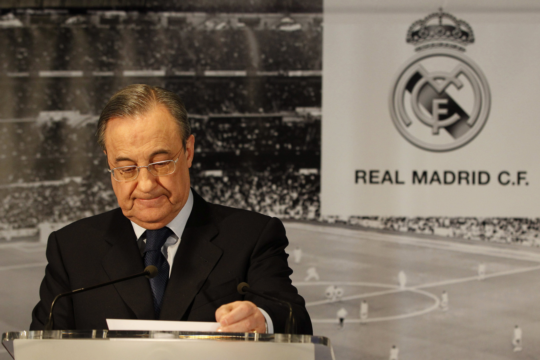 Florentino Pérez comparecerá a las 20.00 horas en el Bernabéu
