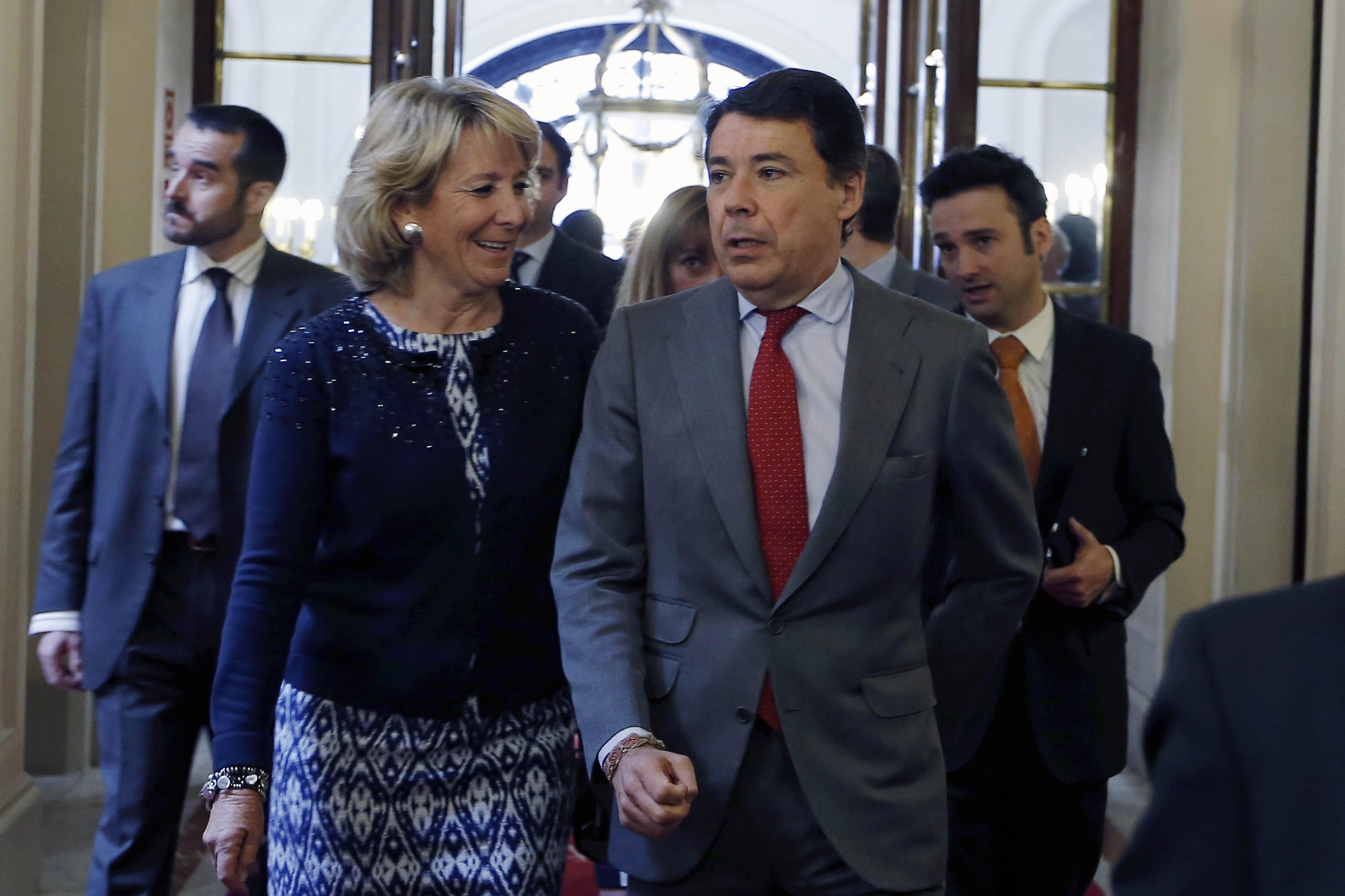 González ni se alegra ni se arrepiente de no haber presidido Caja Madrid