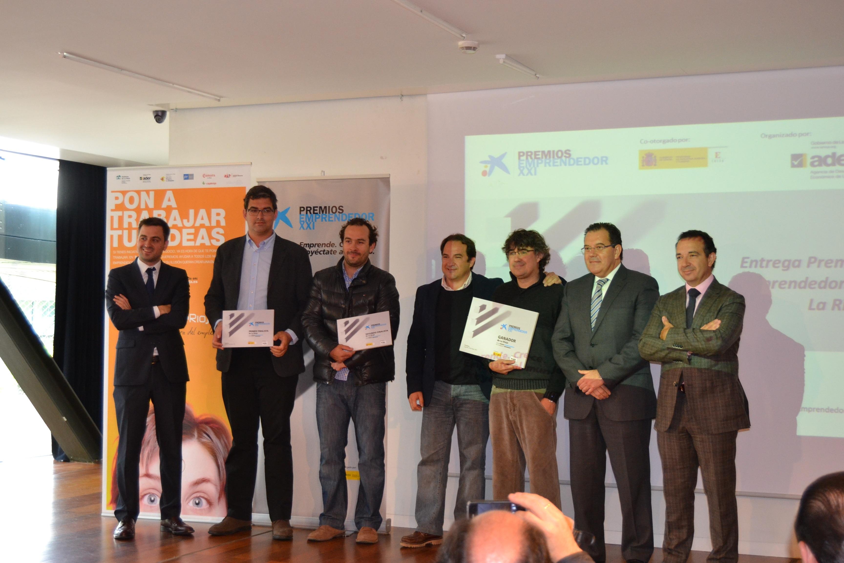La empresa The Graffter recibe el Premio Emprendedor XXI de La Rioja 2013