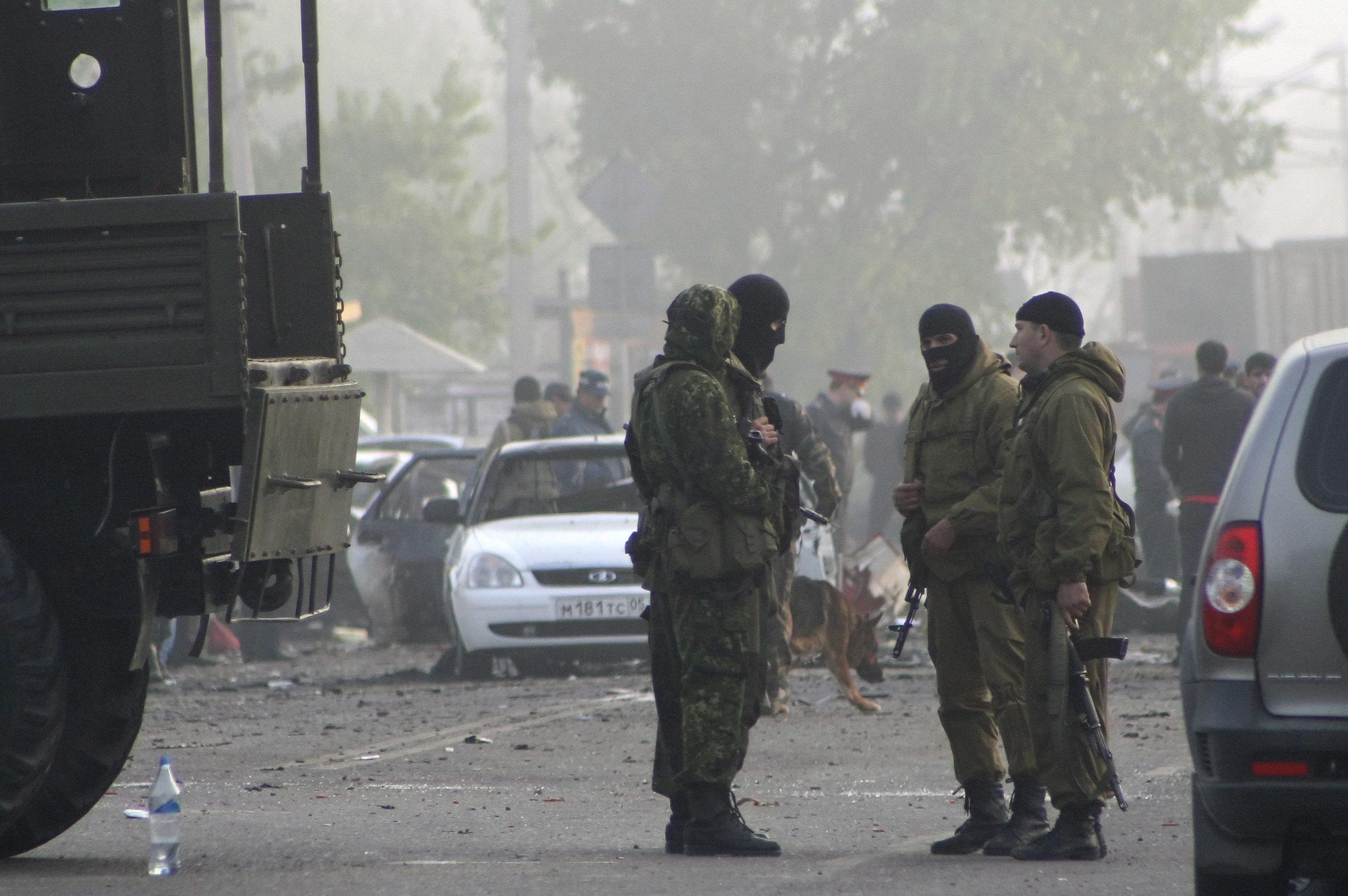 Mueren ocho personas en un doble atentado con coches bomba en el Cáucaso