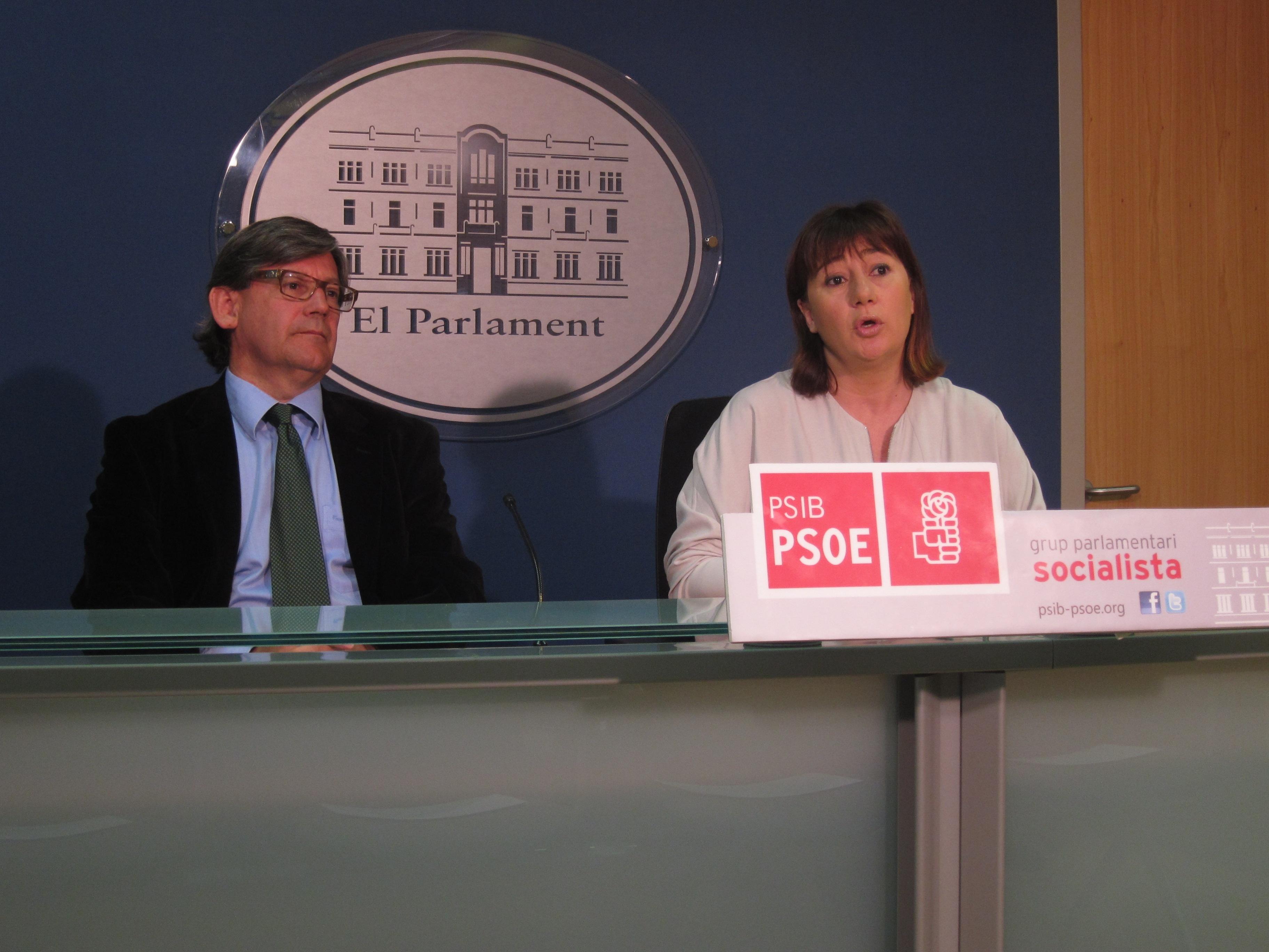 El PSIB-PSOE y MÉS califican de «dramático» el balance de los dos años de Govern del PP en Baleares