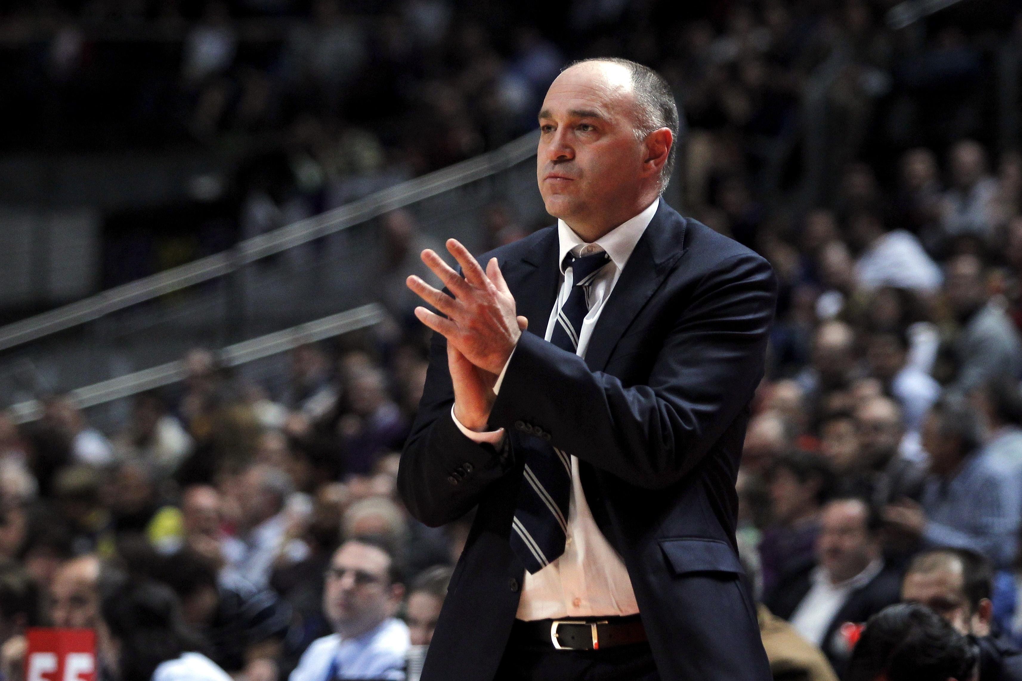 Pablo Laso, nombrado mejor entrenador de la fase regular